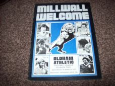 Millwall v Oldham Athletic, 1976/77